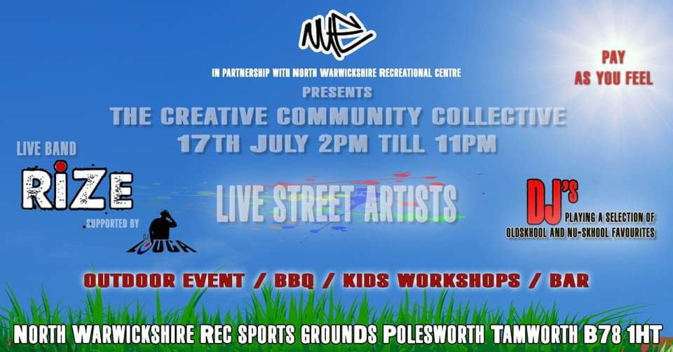 Creative Community Collective Event Poster
