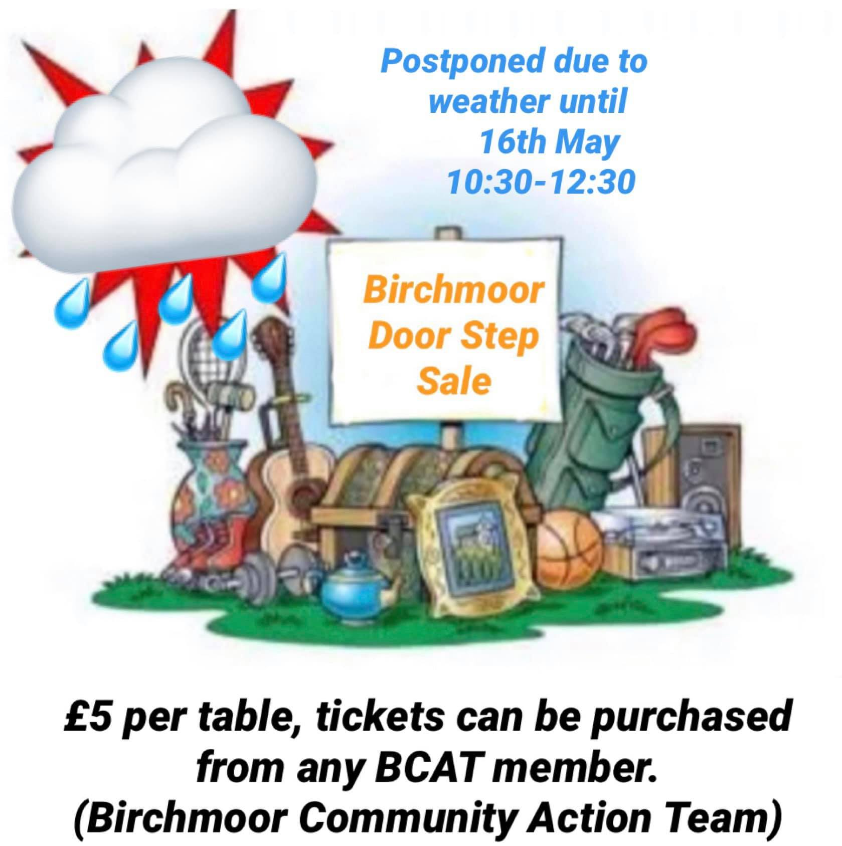 Birchmoor Door Step Sale